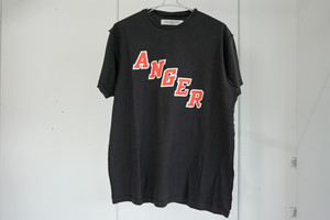 MR.COMPLETELY / ANGER T-SHIRTS / BLK