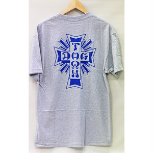 【ドッグタウン】クロスロゴTシャツ ヘザーグレー