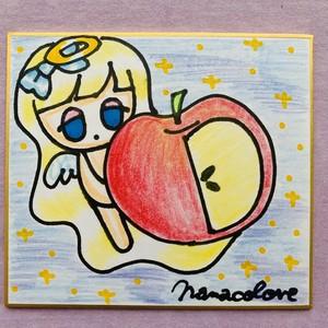 天使ちゃん  林檎と私