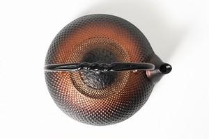南部鉄器 鉄瓶 ブラックホール 0.5L