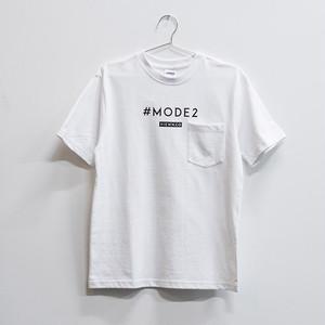 #MODE2 Tシャツ ホワイト(ステッカー付き)【送料無料】