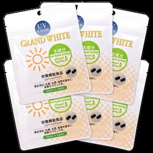 GRAND WHITE [グランホワイト] 実感6パックセット(約3ヶ月分)