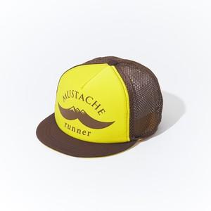 HUNGERKNOCK × Mustache Runner Cap - Yellow/Brown