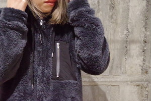 LiSS Boa fleece parka