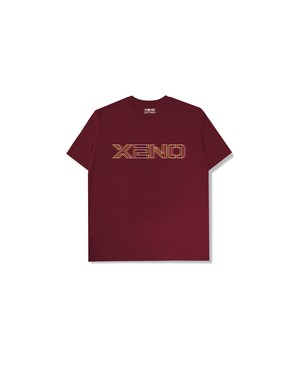 XENO GLITCH LOGO T-shirt DarkRed