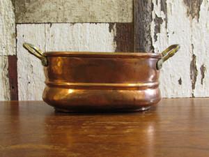 ドイツ・アンティーク 銅製 シュナップス/蒸留酒用の小鍋