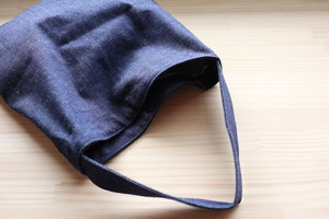 『LENO』Denim Tote Bag Small