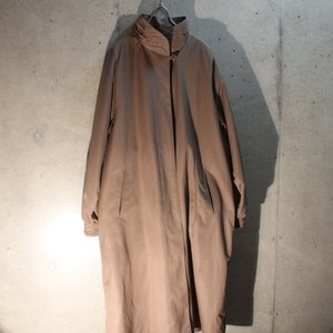 Poly Stand Collar Coat