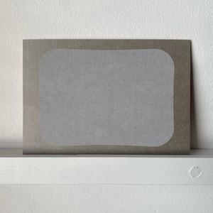 備中和紙の洋封筒にぴったり入る一筆箋【A】