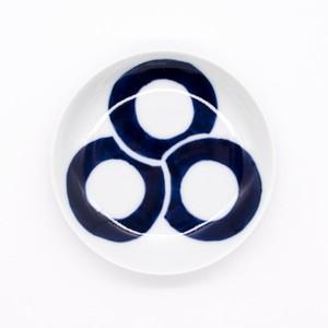 【限定1点 アウトレット品】有田焼 小皿 丸紋 253752 豆豆市122