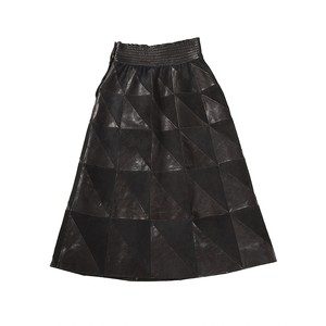 Séme Skirt Leather Long / Decollection