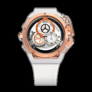 【MAZZUCATO マッツカート】RIM-11(ホワイト×ローズゴールド)/国内正規品 腕時計