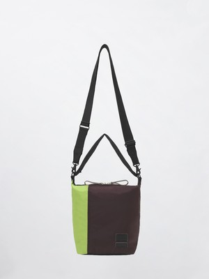 MARNI × PORTER 2 WAY DUFFLE BAG 15CB Pale Mint+Ruby+Black