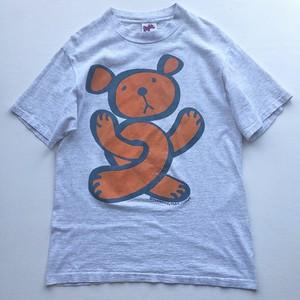 90s  INSANE Twisted Teddy Tシャツ グレー 表記(L)