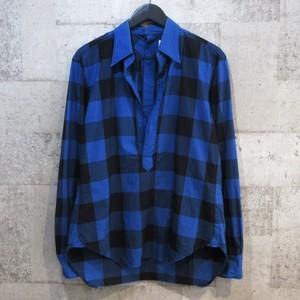 TAKAHIRO MIYASHITA The Soloist. 14SS deep neck pullover shirt
