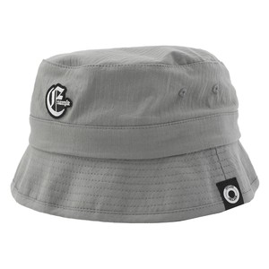 EXAMPLE OE LOGO BUCKET HAT / GRAY