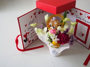 Mothers  day BOX (赤)