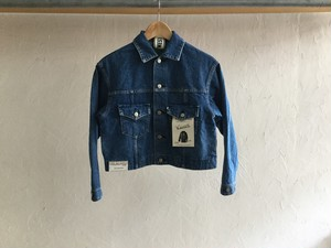 "WESTOVERALLS "" 857B 3RD DENIM JACKET A-TYPE "" BIO BLUE"
