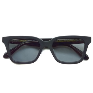 A.D.S.R. / NAVARRO 05 ナヴァロ / MATTE BLACK & CLEAR BLACK - Light Gray マットブラック&クリアブラック - ライトグレーレンズ スクエア ウェリントン サングラス