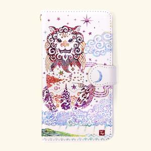 【受注生産】「守り神」手帳型スマホケース【Lサイズ】