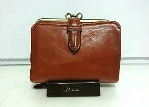 Dakota(ダコタ)【クラプトン】がま口二つ折り財布