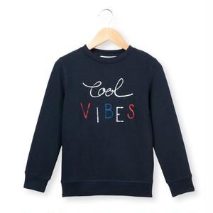 La Redoute Cool vibes モチーフ スウェットシャツ ネイビー
