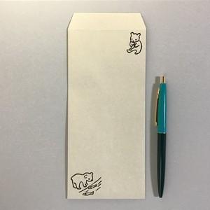 一筆箋封筒#5p こぐま IPPE-14