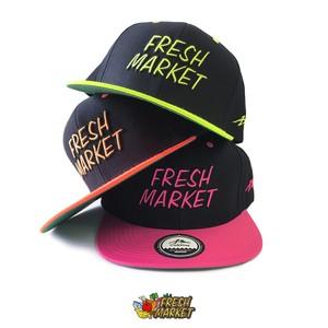 FRESH MARKET × GOODY : 『FRESH MARKET』 SNAPBACK CAP / スナップバック キャップ