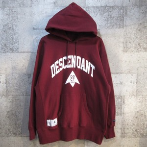 DESCENDANT 19AW TEAM HOODED SWEATSHIRT