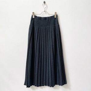 リズクレイボン Liz claiborne ニット プリーツスカート 80年代 アメリカ古着 日本S〜M