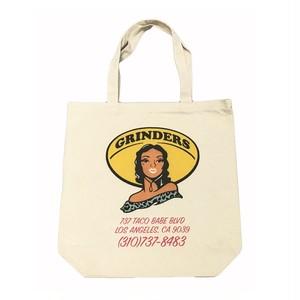 GRINDERS Taco Babe Burrito Tote Bag