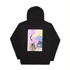 ALLTIMERS FISH FEED HOODY BLACK L オールタイマーズ パーカー