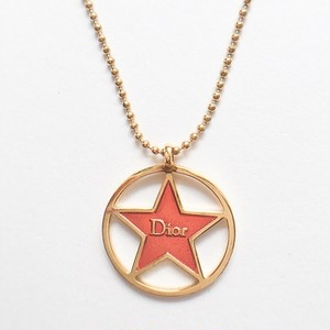 """Dior"" red star necklace[n-178]"