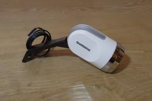 シマノ LPC-2207C ホワイト HILMOハブダイナモ専用ライト フォークセンター取付