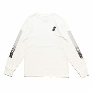 CHRYSTIE NYC RACE C LOGO L/S TEE WHITE L クリスティーニューヨーク ロング Tシャツ