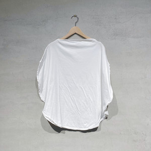 【COSMIC WONDER】Beautiful organic cotton circle T-shirt/White/11CW02051-1