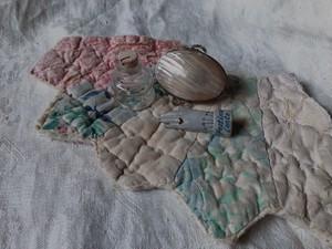 AMERICA antique mini quilt
