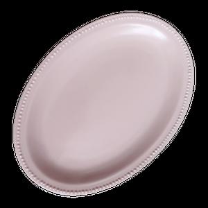 Dotlim oval plate 24cm  / ドットリム オーバルプレート 24cm