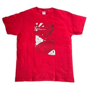 ヨクキタネTシャツ / レッド