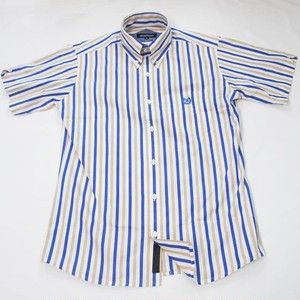 MALTI STRIPE BD SHORT SLEEVE  White / Beige / Blue