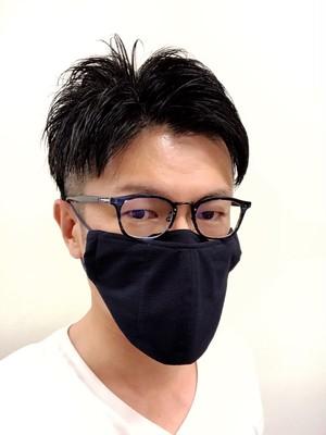 【Lサイズ】メガネマスク ネイビー