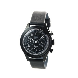 VAGUE WATCH CO.【2EYES クロノグラフ BLACK 】
