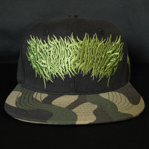 Gluttonous Slaughter Snapback Green x Camo