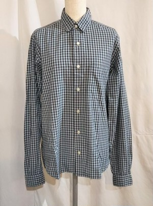 steven alan  Check shirt /Made In USA [275]