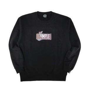 CHOCOLATE HEADS CREW NECK(10oz) /BLACK