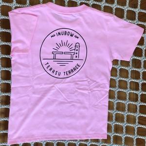 オリジナルロゴTシャツ ピンク×ブラック