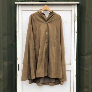 Corduroy Manto Coat