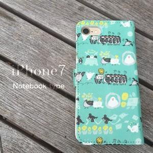 【iPhone6/6S/7/8 対応】文鳥 ハードケース