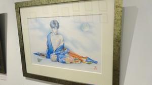 【特価】絵画「菊慈童」(2015年)