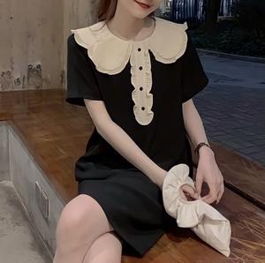 tulip collar dress